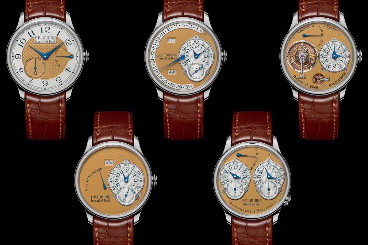 FP-Journe-Steel-38mm-Final-Edition-complete-set-5-watches