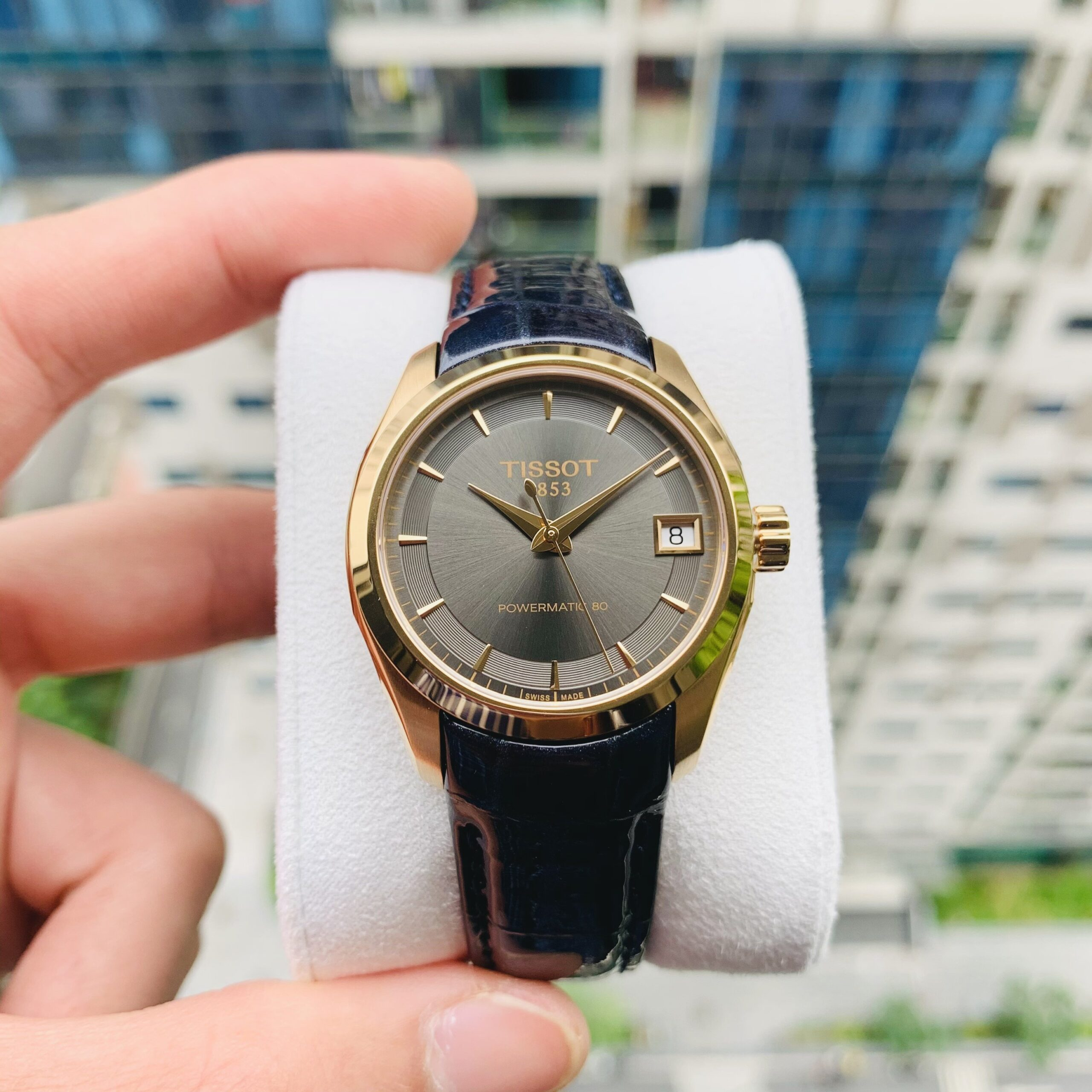 Đồng Hồ Nữ Tissot Couturier Lady Powermatic 80 - T035.207.36.061.00