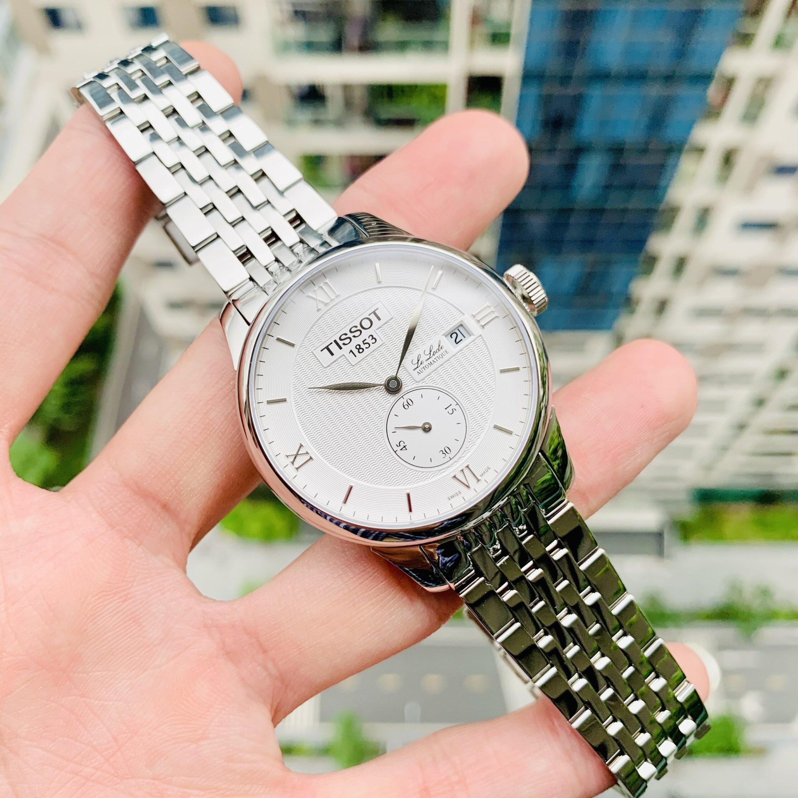Đồng Hồ Tissot LeLocle White - T006.428.11.038.01