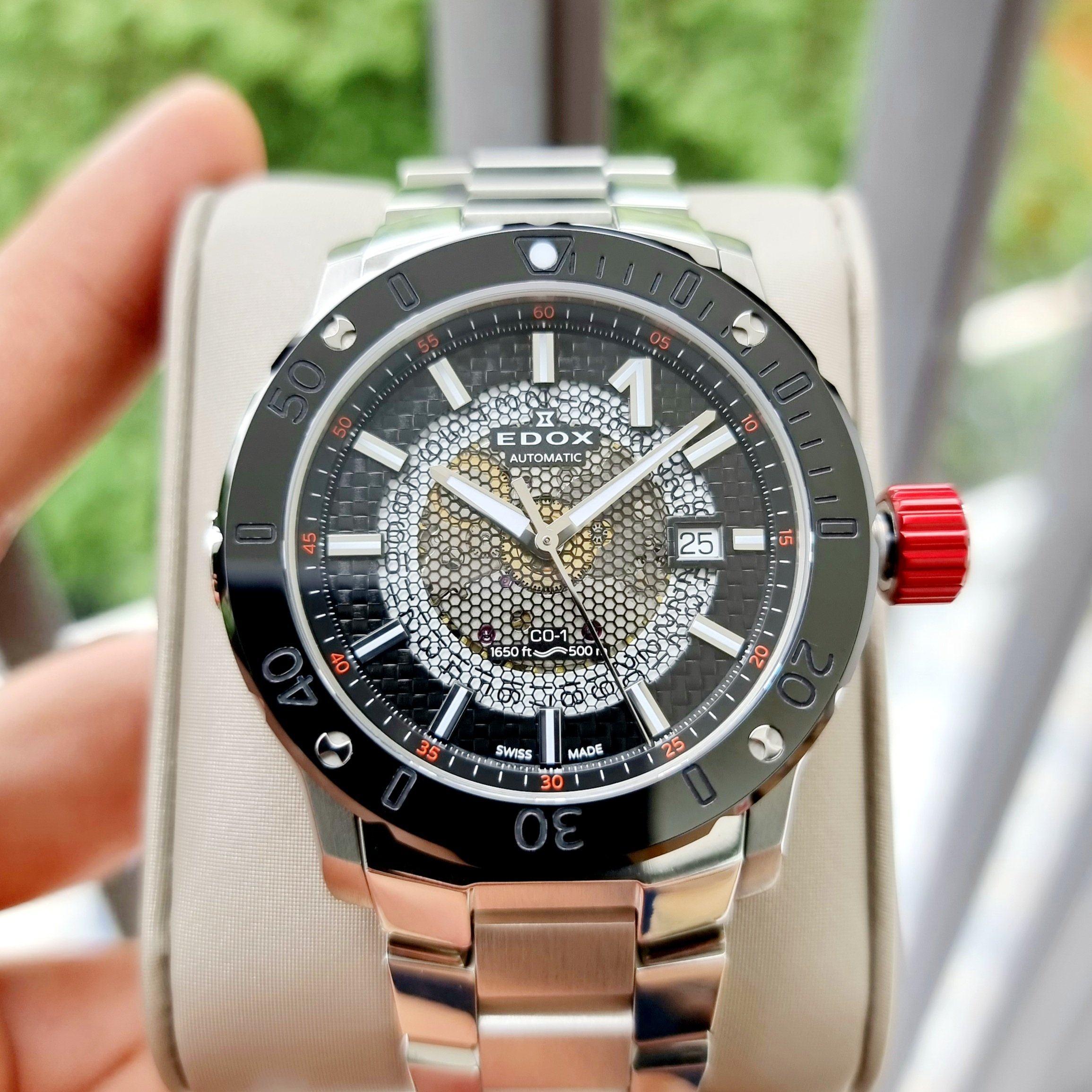 Đồng hồ E.DOX Chronoffshore-1 Black - 80099-3RM-NIN