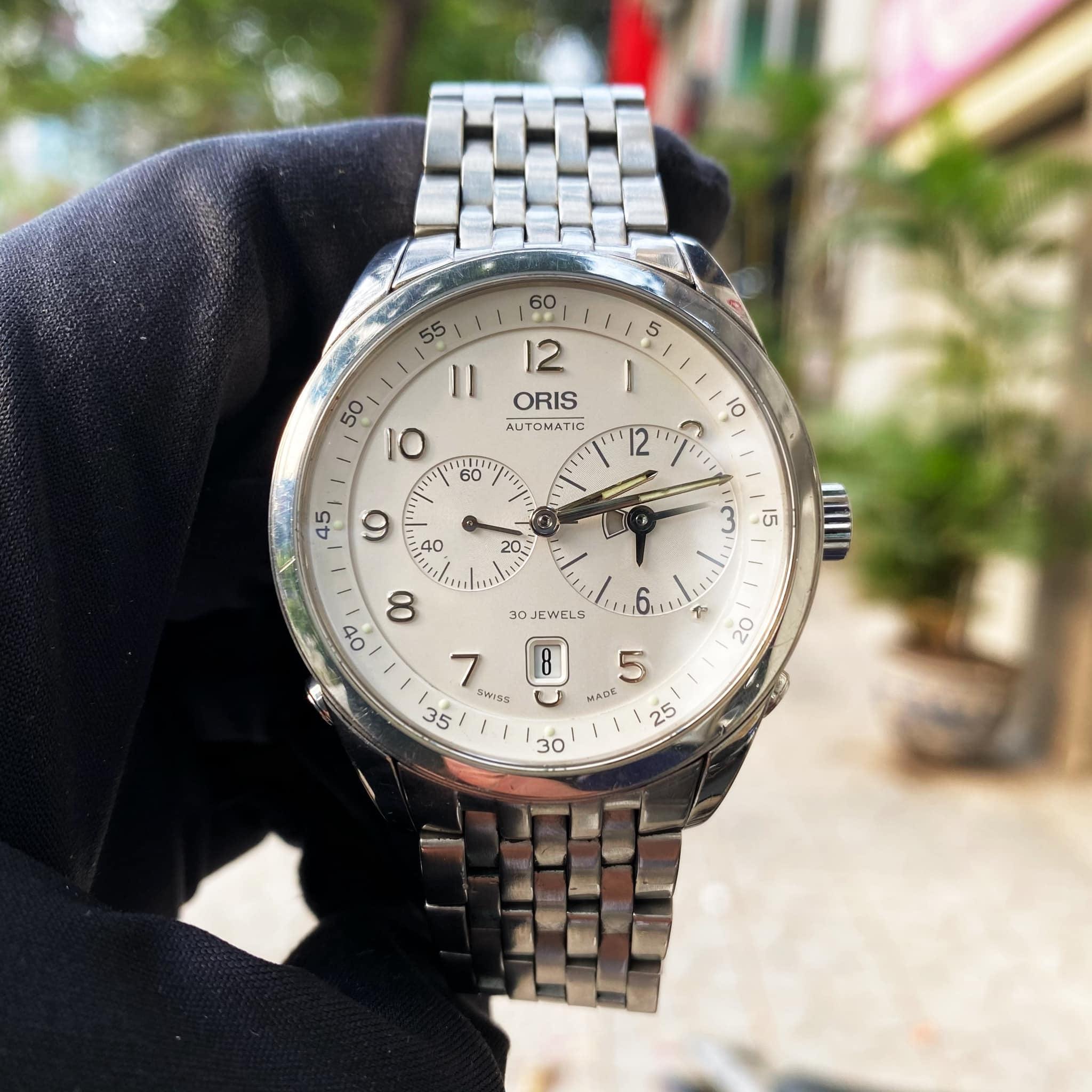 Đồng Hồ Nam Oris World Timer 7513
