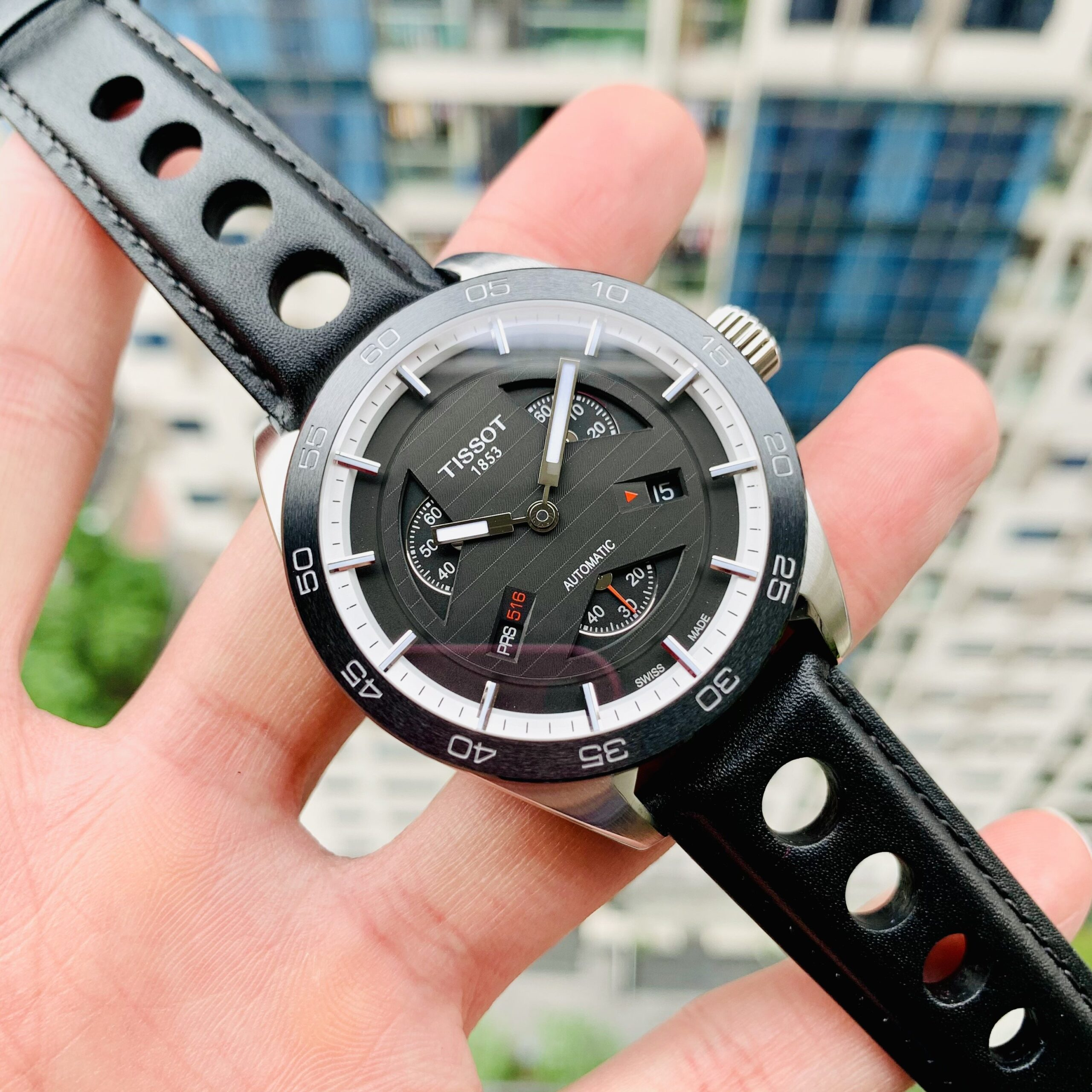 Đồng Hồ Nam Tissot PRS516 Black - T100.428.16.051.00