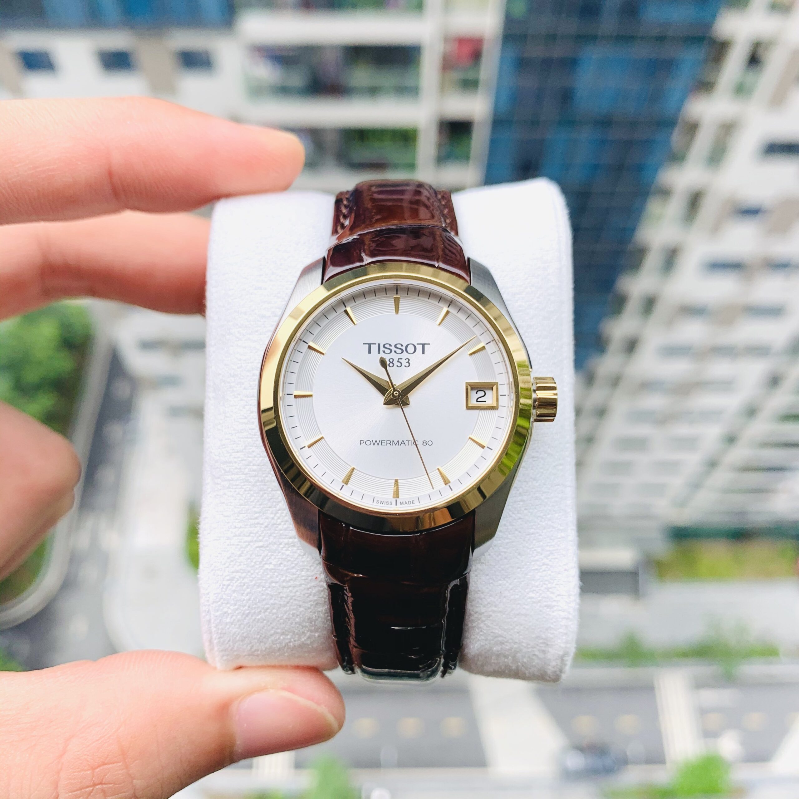 Đồng Hồ Nữ Tissot Couturier Lady Powermatic 80 - T035.207.26.031.00