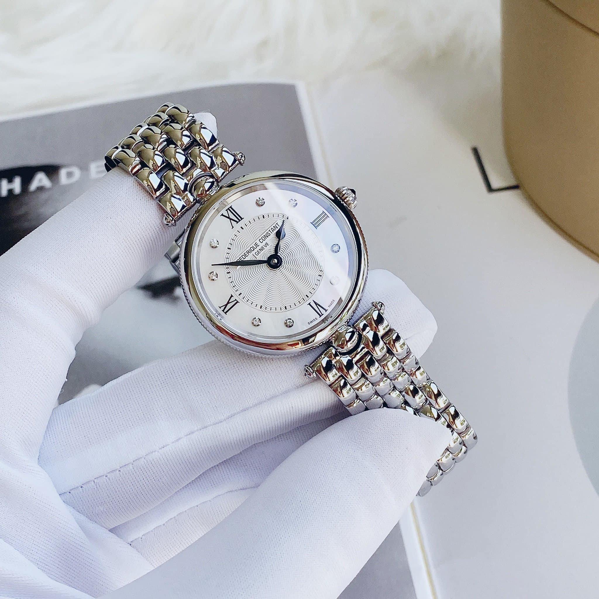 Đồng Hồ Nữ Frederique Constant Art Deco Diamond Lady FC-200MPWD2AR6B